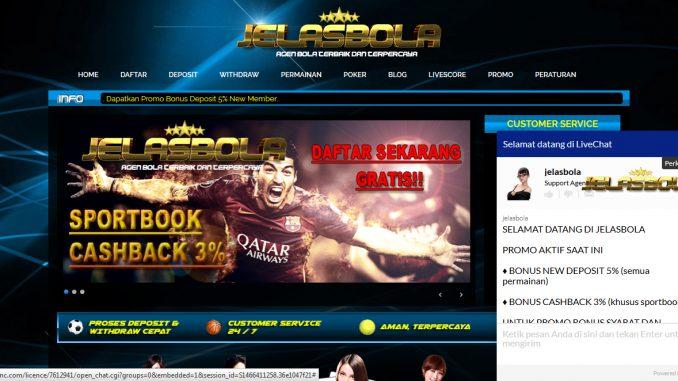 JelasBola.com Agen Sbobet Agen Ibcbet Casino Online Judi Bola