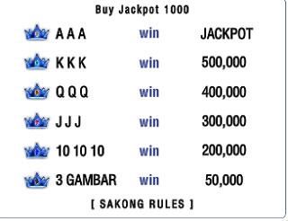 Trik dan Tips Mudah Dapat Jackpot Sakong Online